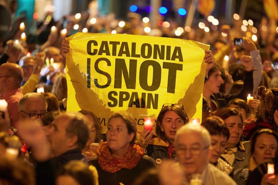 Акции протестов Испания