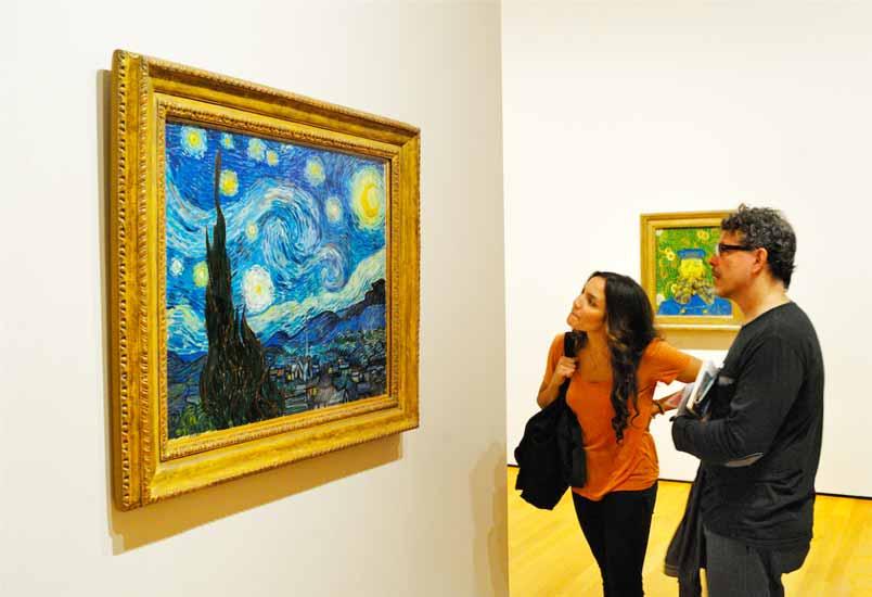 """""""Звездная ночь"""" - Музей современного искусства"""