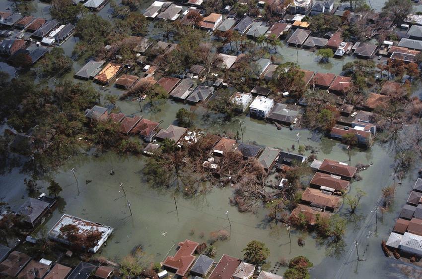 Ураган Катрина в США в 2005 году