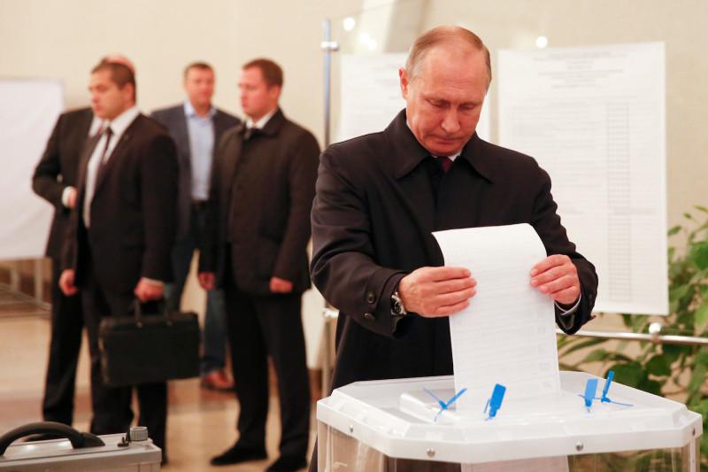 Трамп поздравил Путина с фиктивными выборами