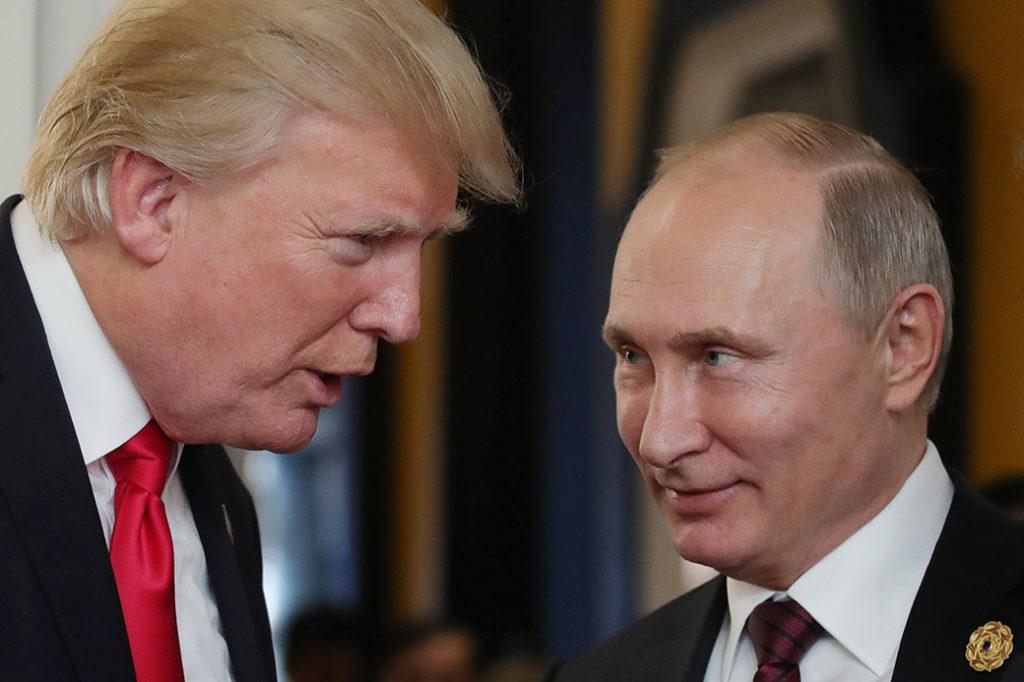 Трамп рассмотрел вопрос о возвращении России дипломатических зданий