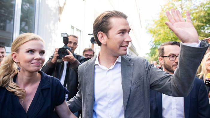 Себастьян Курц крайне правая Партия свободы