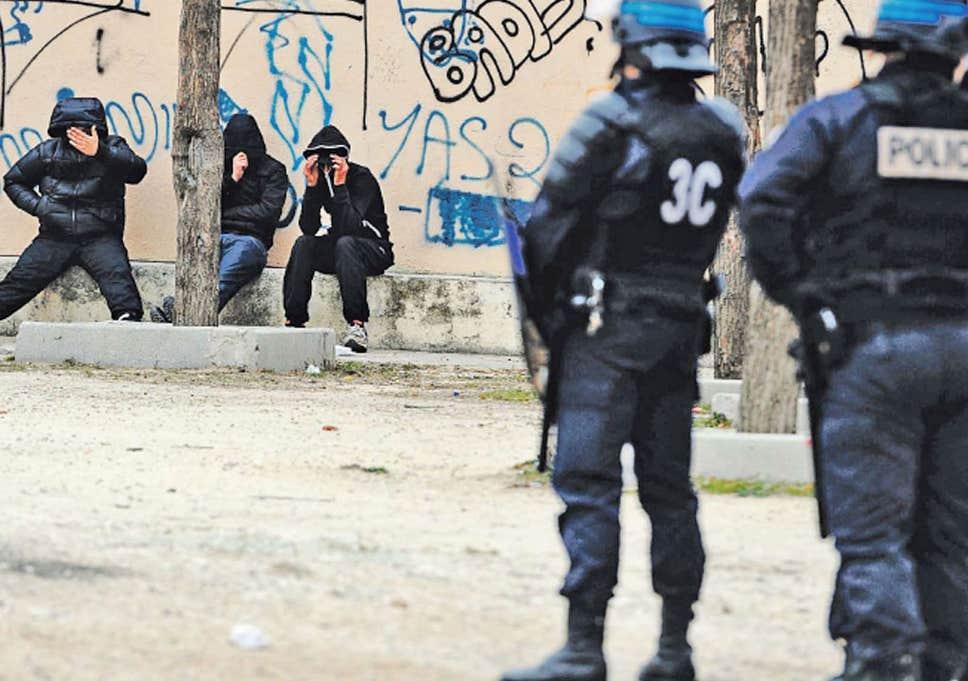 Марсель, Франция опасно