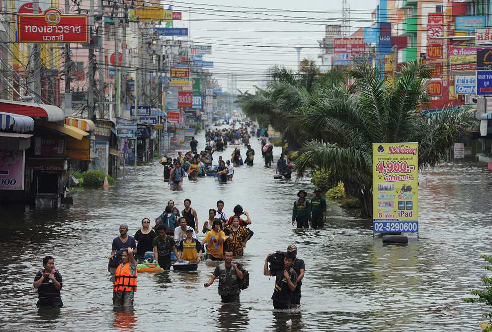 Наводнение в Таиланде в 2011 году