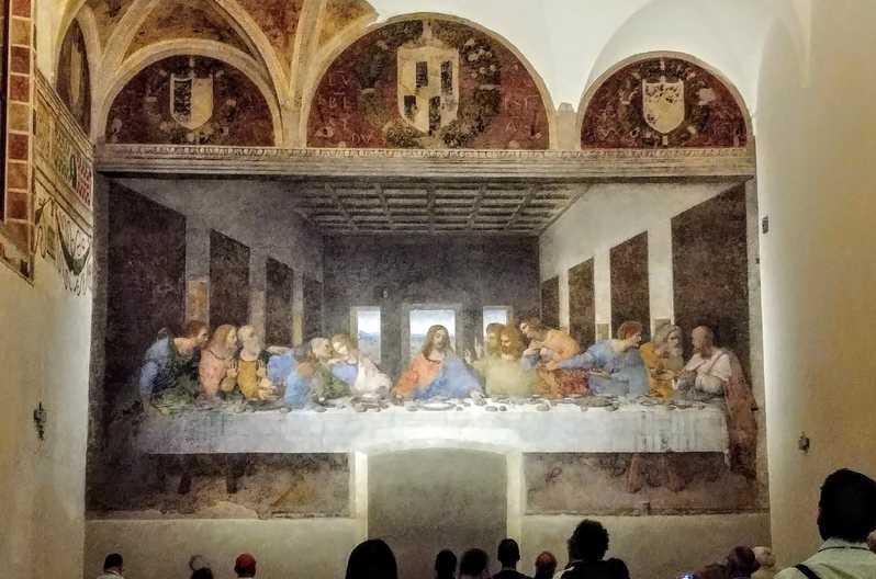 """""""Тайная вечеря"""" - монастырь Санта-Мария-делле-Грацие"""