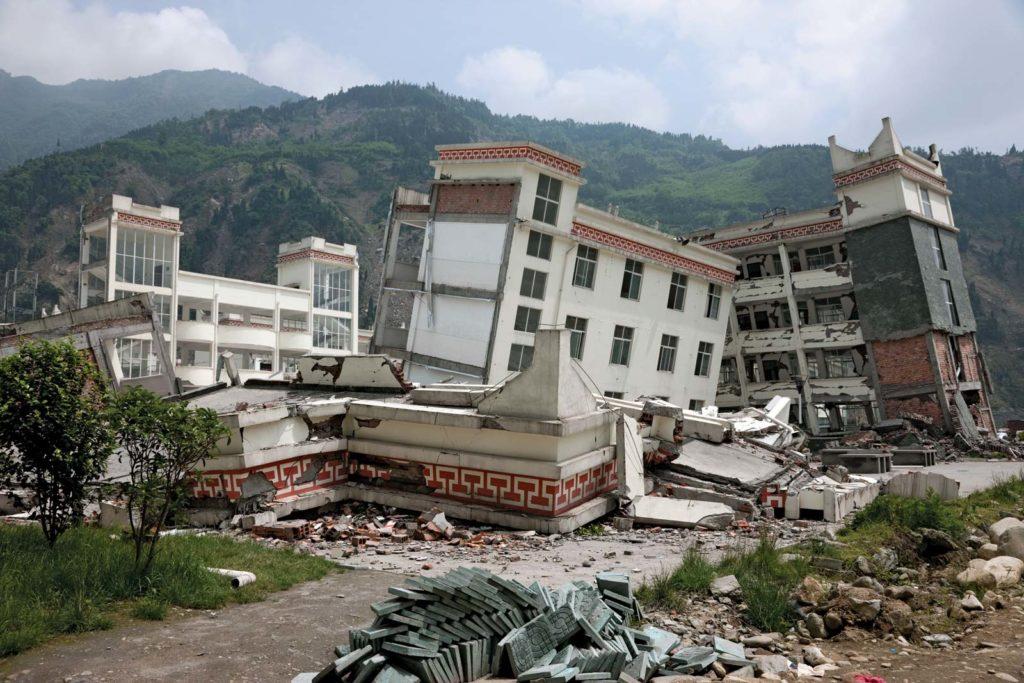 Землетрясение в Китае в 2008 году