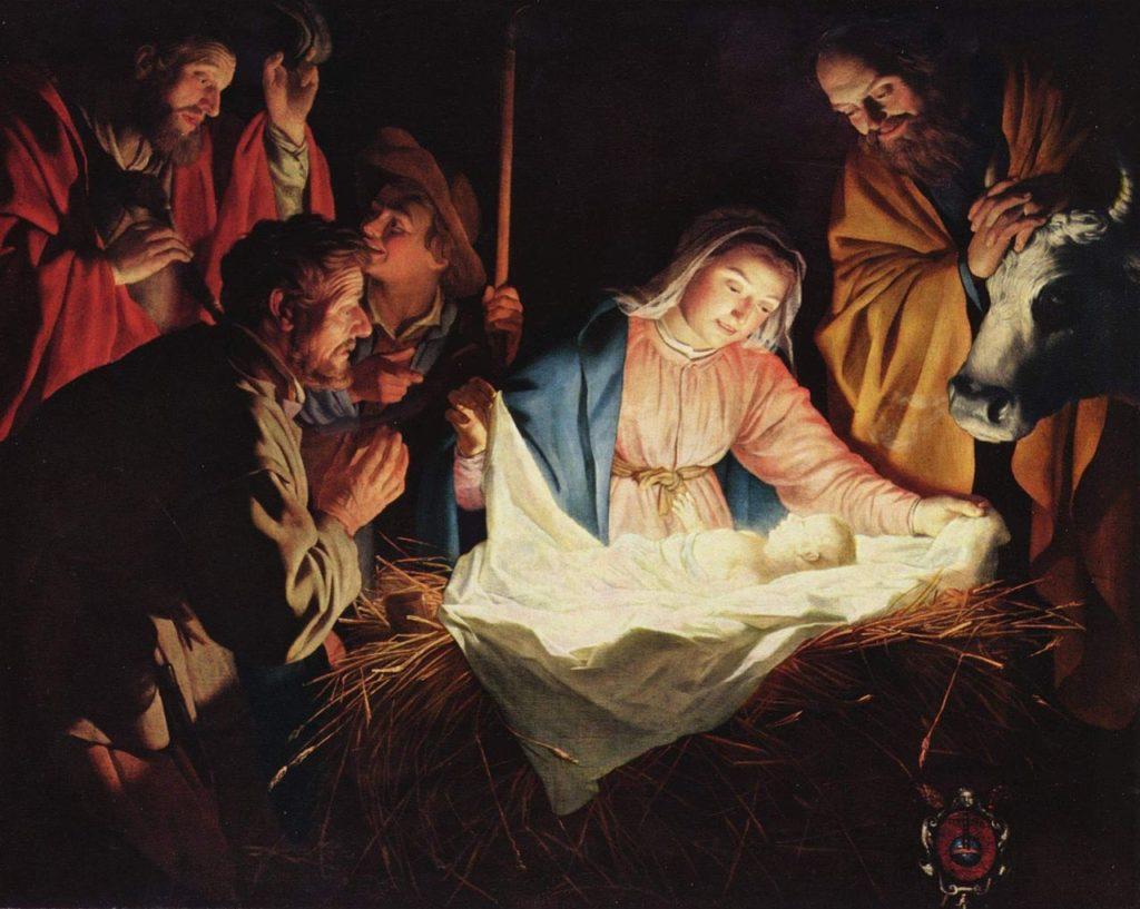 Библия говорит, что Иисус родился 25 декабря