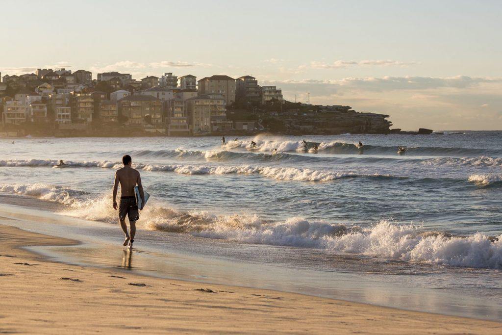 Пляж Бонди-Бич, Австралия