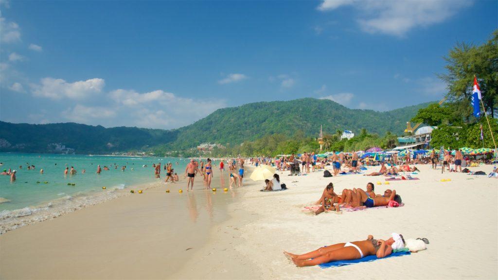 Пляж Патонг, Таиланд