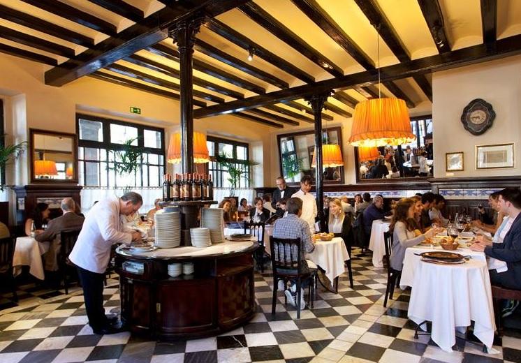 Ресторан 7 Portes Барселона