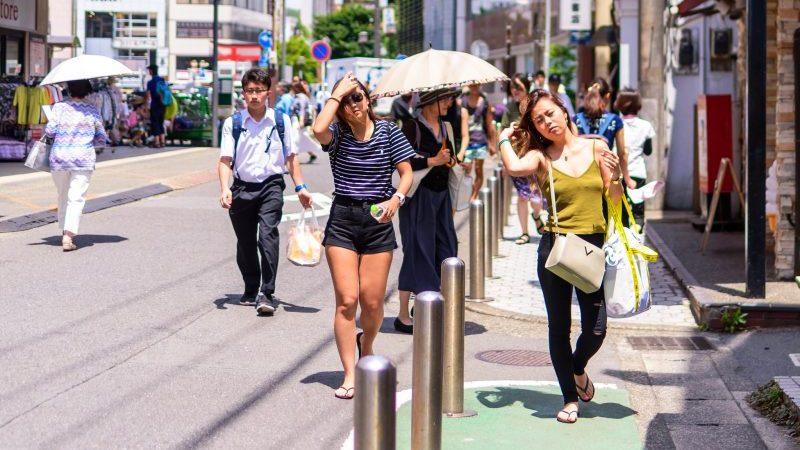 Жертвами жары в Японии становятся более 160 человек