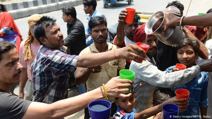 90 погибших из-за рекордной жары в Индии