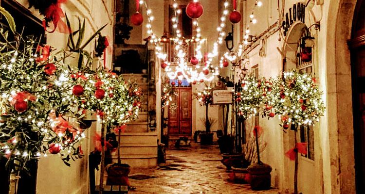 Локоротондо, Апулия Рождество