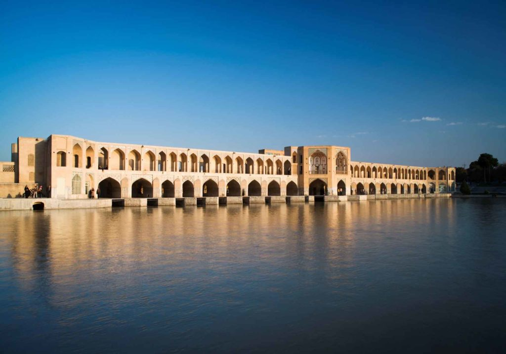 Мост Поле-Хаджу - Исфахан