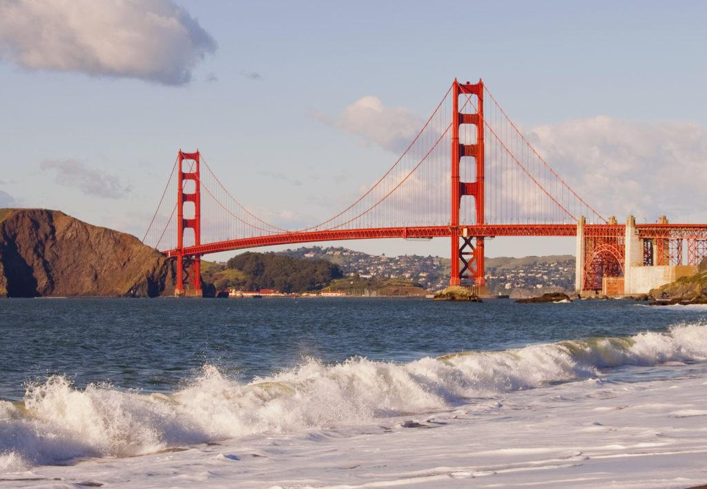 Мост Золотые Ворота - Сан-Франциско