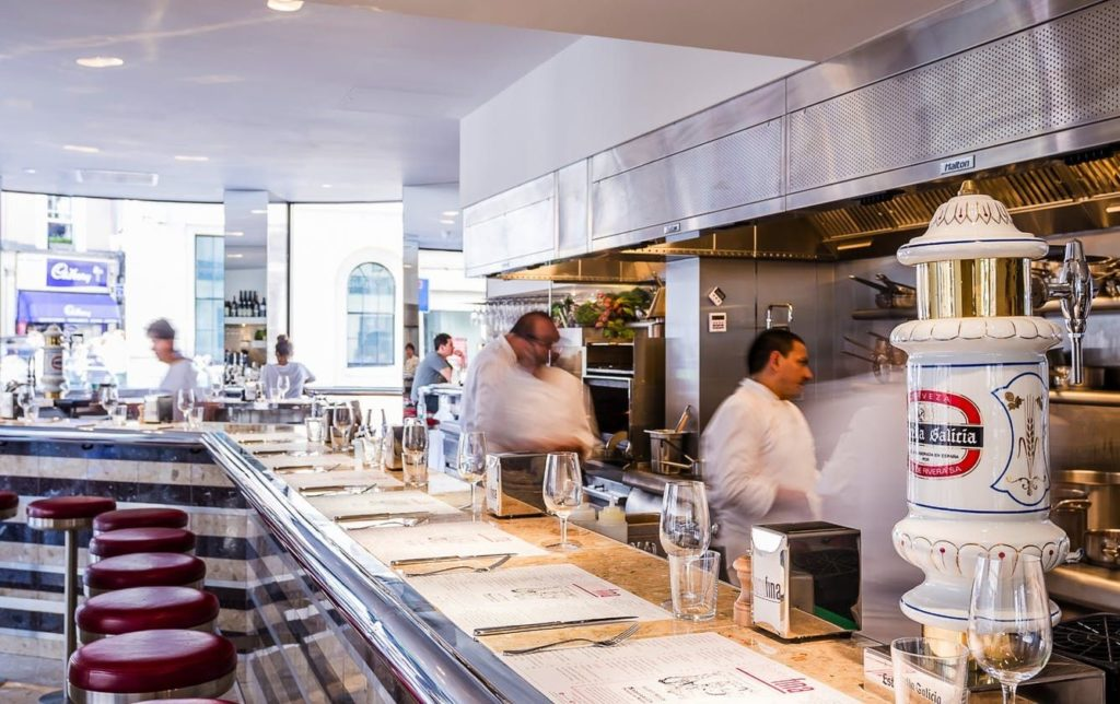 Ресторан Barrafina Лондон