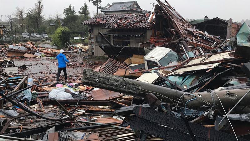 Более 80 человек погибли из-за тайфуна Хагибис в Японии
