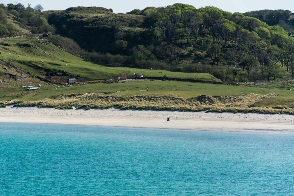 Пляж Калгари-Бэй, остров Малл, Шотландия