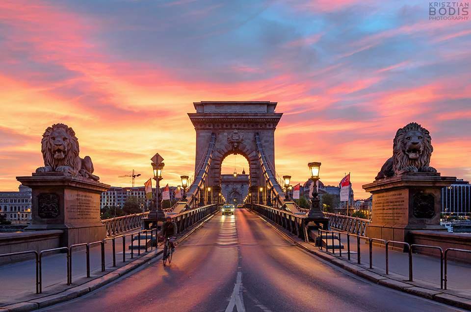 Цепной мост - Будапешт