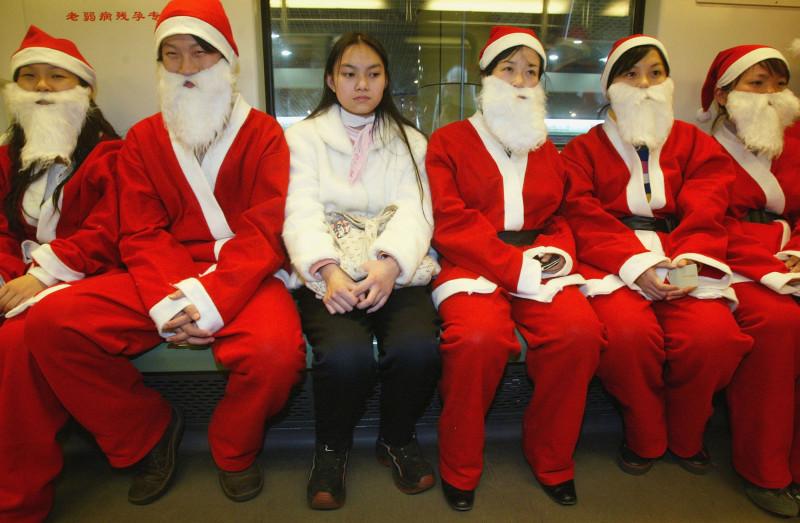 Китай Рождество