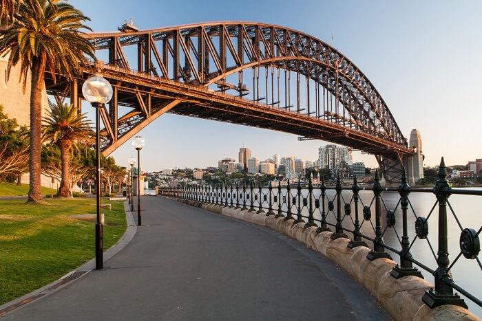 Мост Харбор-Бридж - Сидней