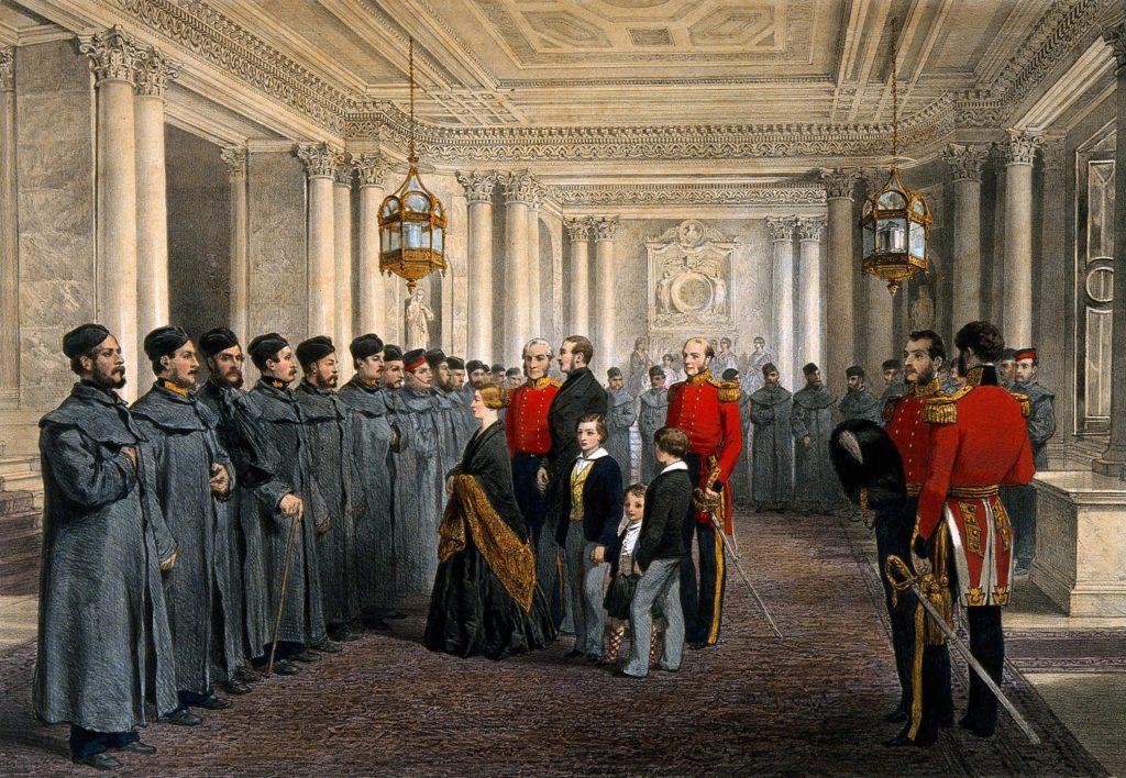 Букингемский дворец королева Виктория