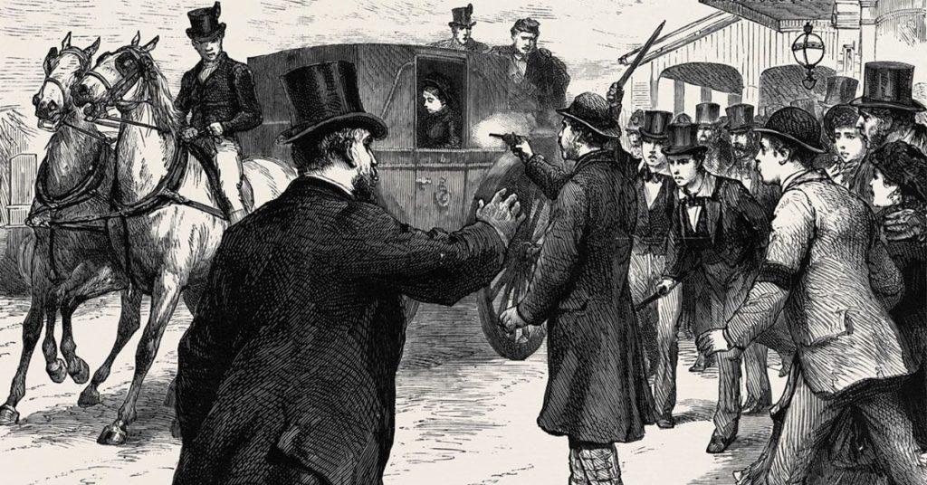 покушения на убийство королева Виктория