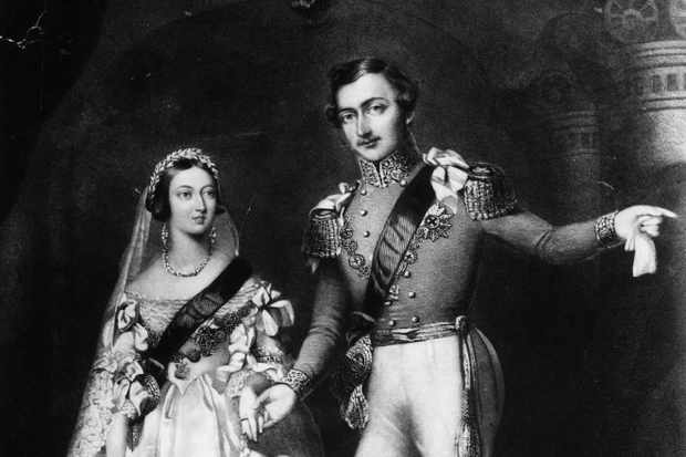 принц Альберт королева Виктория