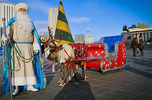 Монголия Рождество