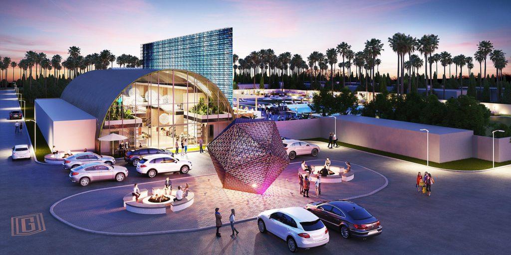 Отель Индиго, Коачелла, Калифорния