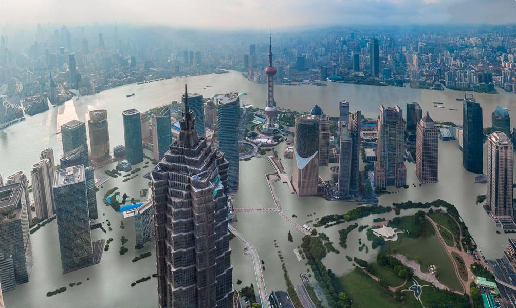 Шанхай тонет
