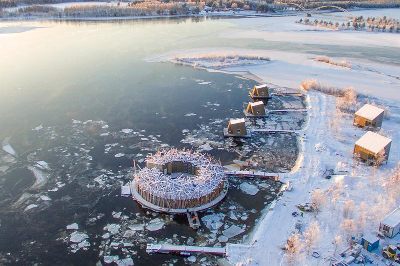 Arctic Bath Hotel, Лапландия