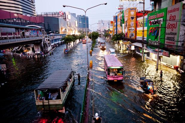 Бангкок тонет