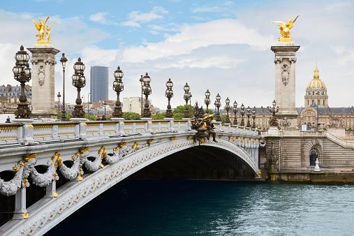 Мост Александра III - Париж