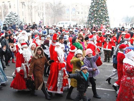 Узбекистан Рождество