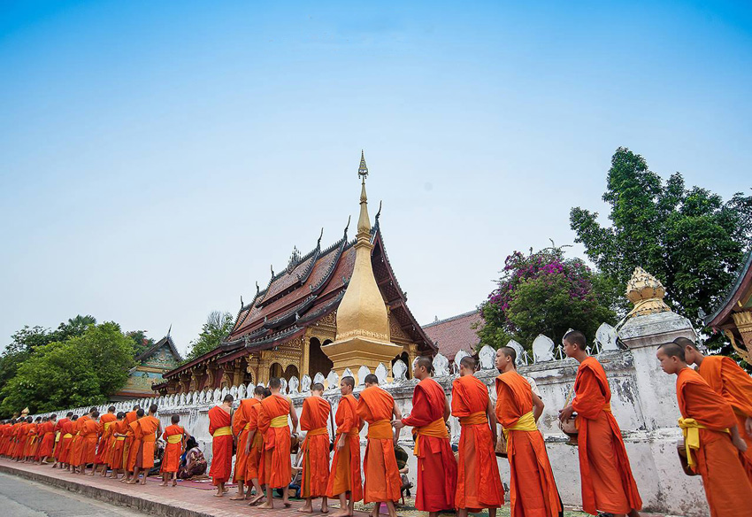 Путешествие Луангпхабанг