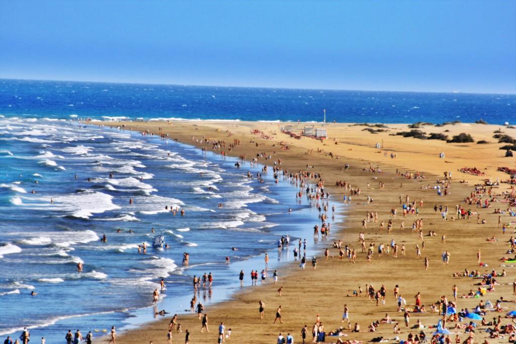 Пляж Маспаломас, Гран-Канария