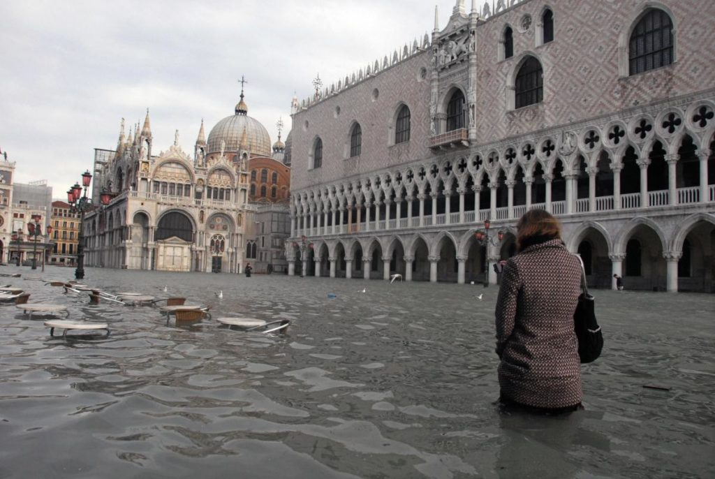 Какие европейские города уходят под воду?