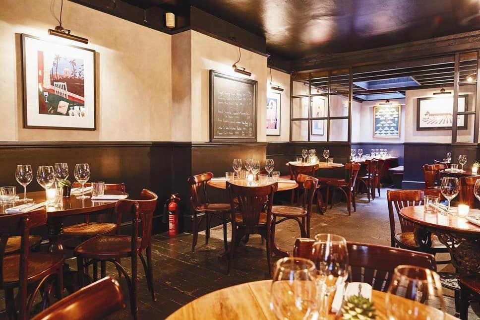 Ресторан Noble Rot Лондон