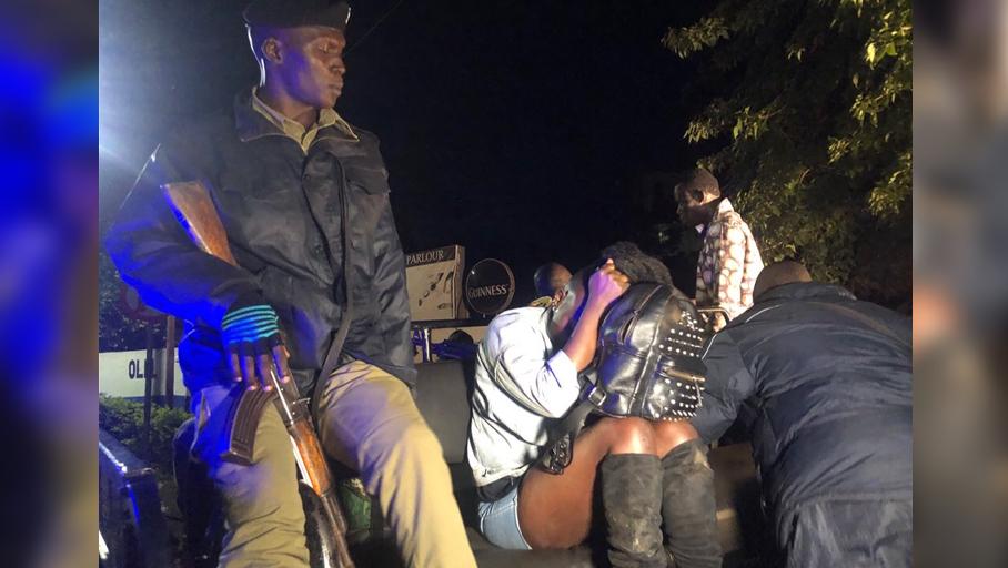 Гей-бар в Кампале, столице Уганды