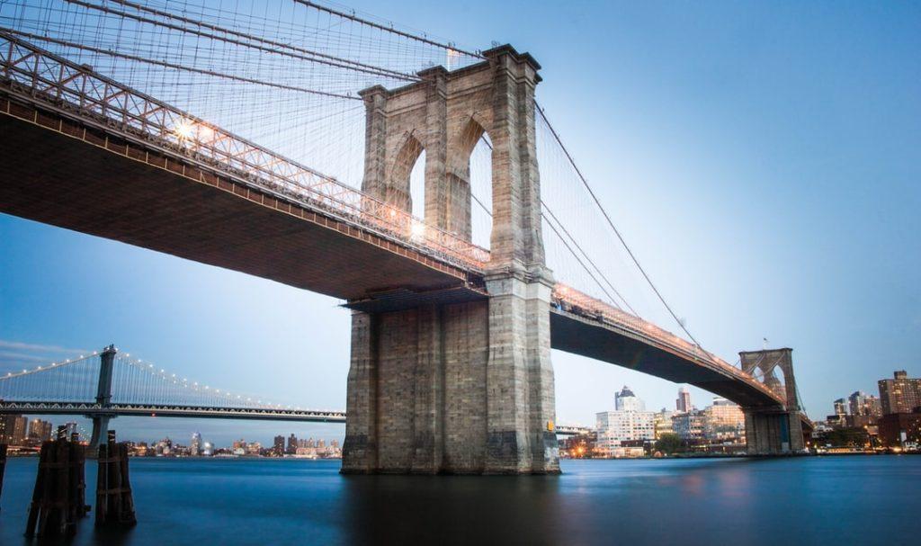 Бруклинский мост - Нью-Йорк