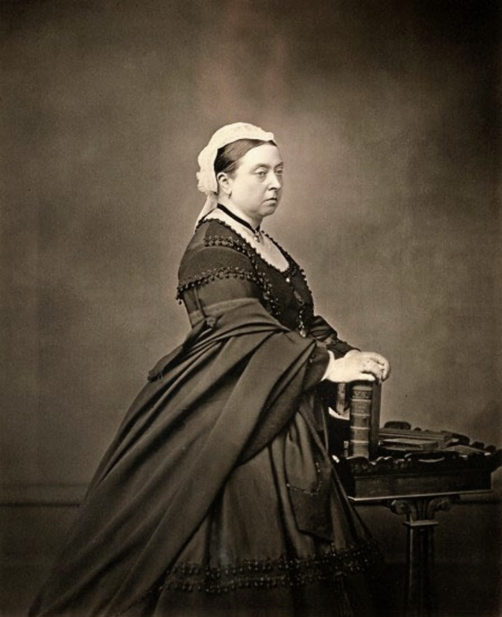 Траур королева Виктория