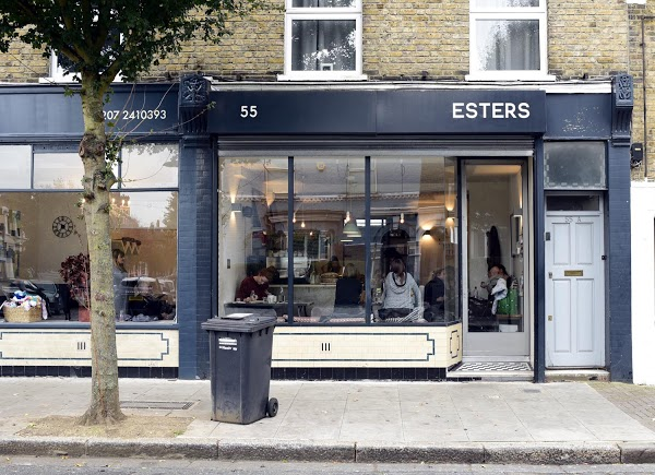 Ресторан Esters Лондон