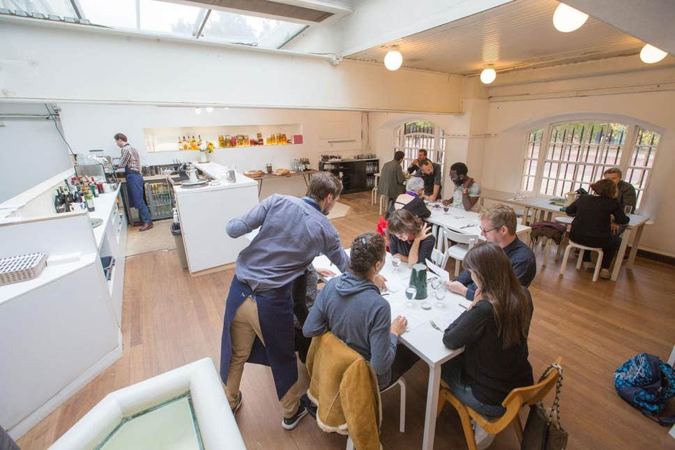 Ресторан Rochelle Canteen Лондон