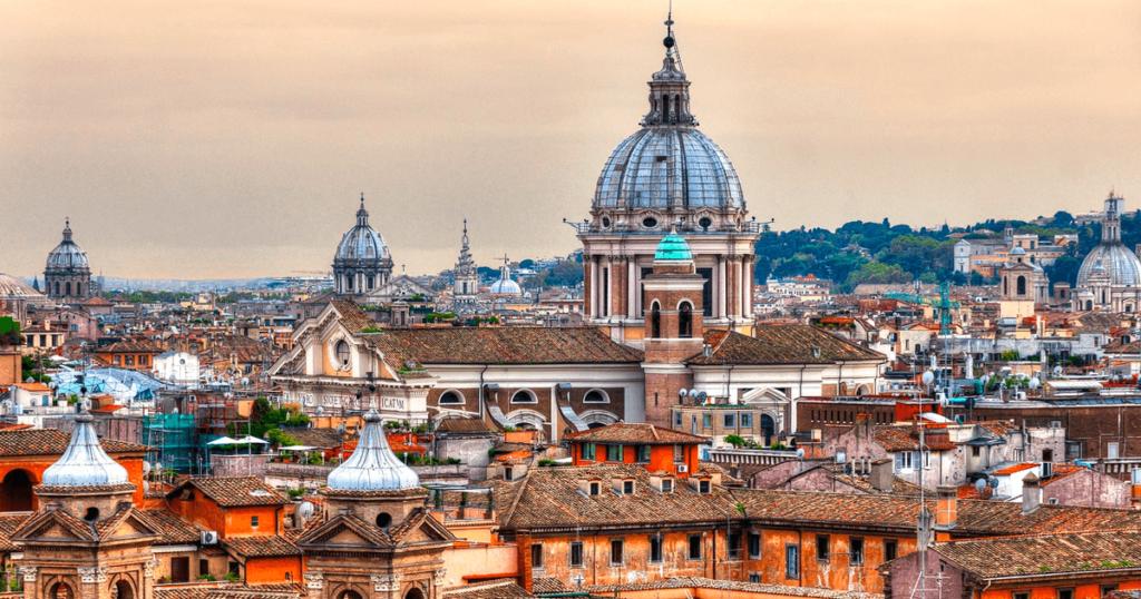 Путешествие Рим