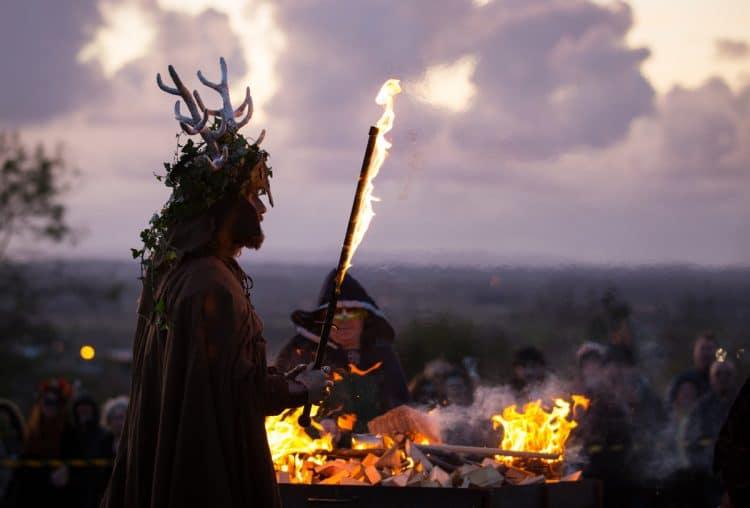 Хэллоуин появился в Ирландии