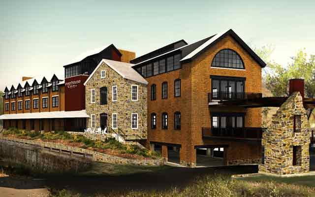 Odette's River House, Нью-Хоуп