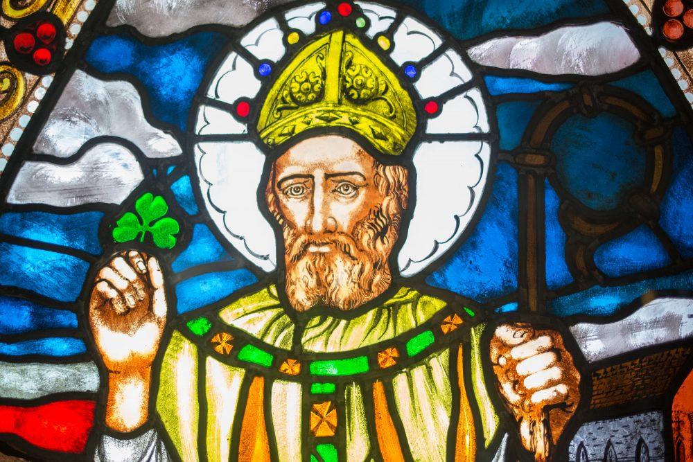 Святой покровитель Ирландии - не ирландец