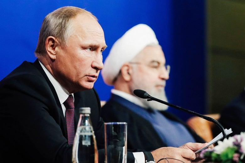 Иран Россия