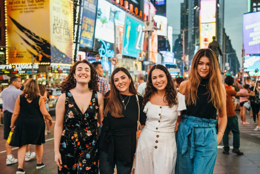 Нью-Йорк студенты